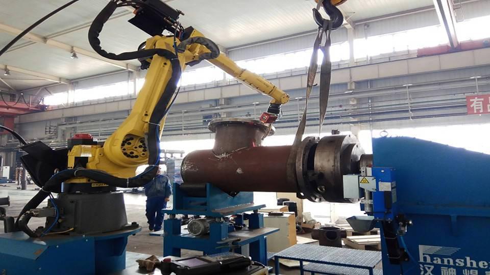 中国石化-机器人相贯线焊接工作站