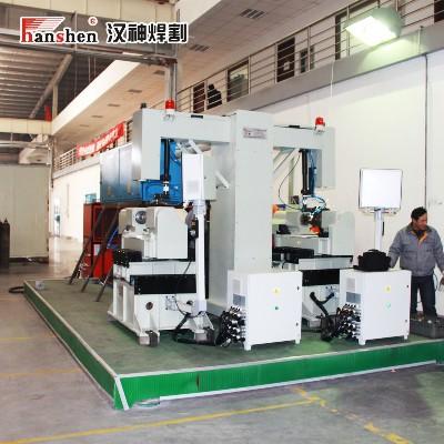 汽车尾气循环处理泵壳激光焊接专机
