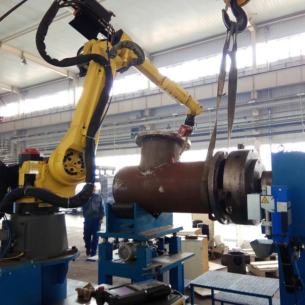 机器人相贯线焊接生产线
