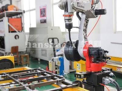 机器人自动化焊接-医疗床项目顺利验收