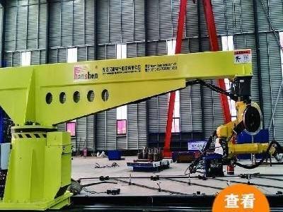 超长悬臂机器人钢筋对焊弧焊工作站